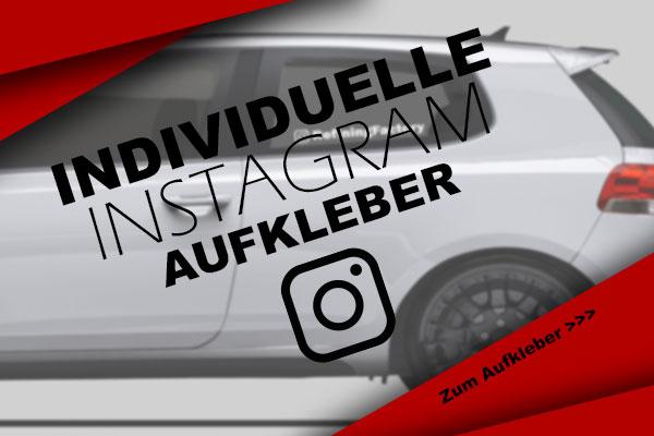 Instagram-Aufkleber
