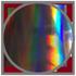 Oilslick / Rainbow (Hologramm)
