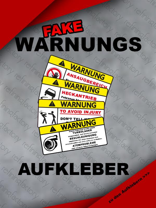 Fake Warnungen